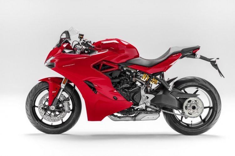 Ducati India SuperSport studio left side view