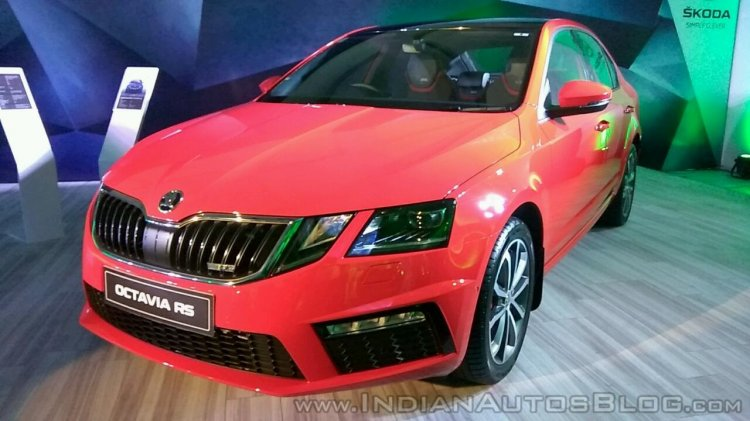 Skoda Octavia RS India price