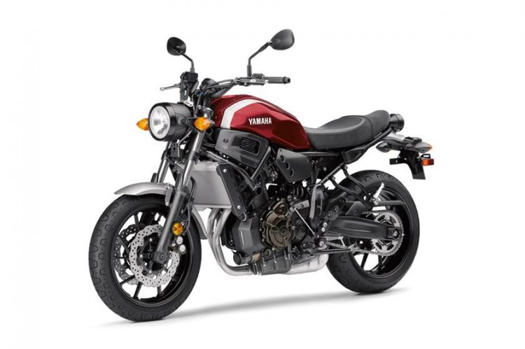 The Yamaha XSR155 may not carry a trellis frame as seen in the XSR700 pictured here.