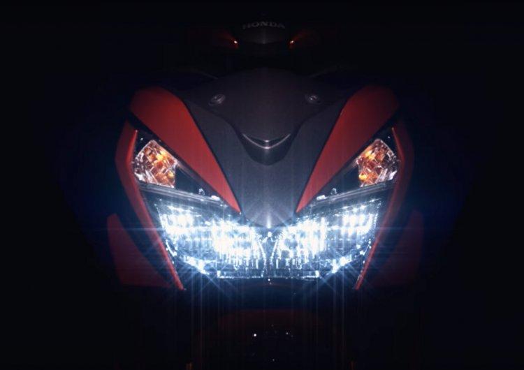 Honda Grazia teaser image headlamp