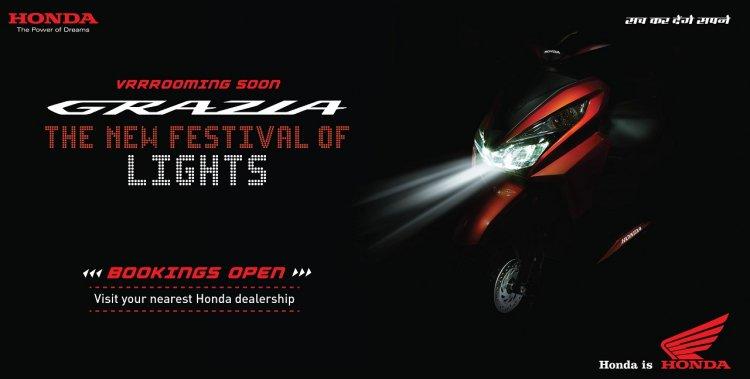 Honda Grazia teaser image