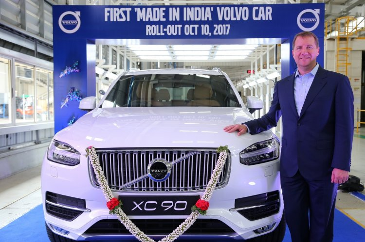 Made in India Volvo XC90 rolls out