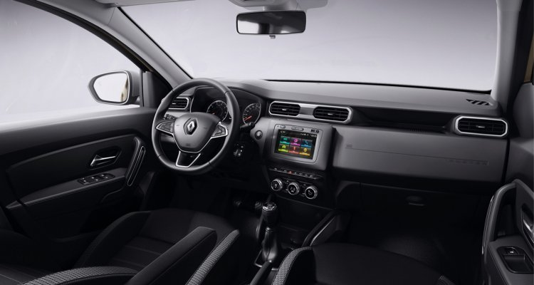 2018 Renault Duster dashboard