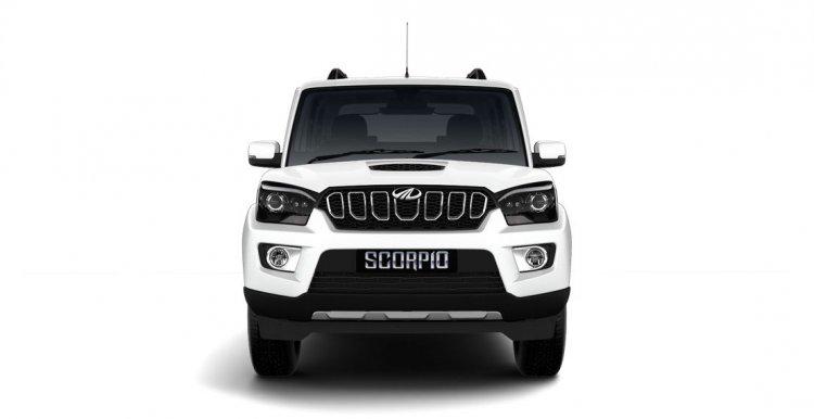Mahindra Scorpio 2017 facelift front