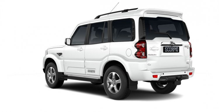 Mahindra Scorpio 2017 facelift left rear three quarters