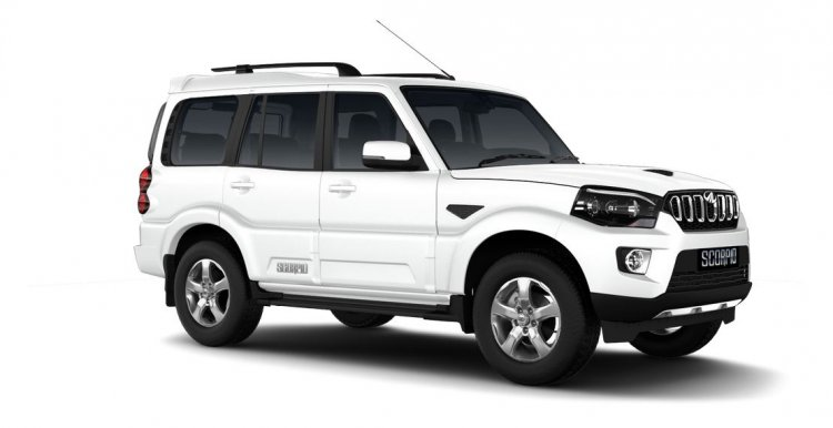 Mahindra Scorpio 2017 facelift right front three quarters