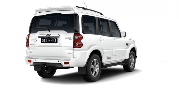 Mahindra Scorpio 2017 facelift right rear three quarters
