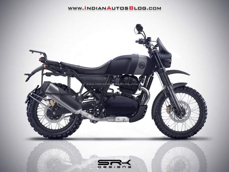 upcoming Royal Enfield motorcycles Royal Enfield Himalayan 650 IAB Rendering