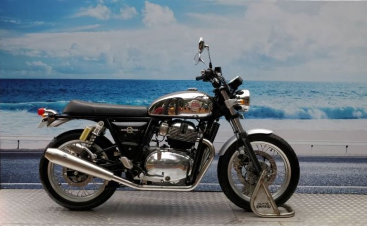Royal Enfield Interceptor INT 650 at 2017 Rider Mania