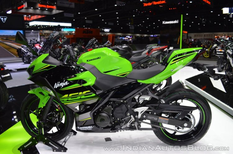 Kawasaki Ninja 400 KRT Edition left side