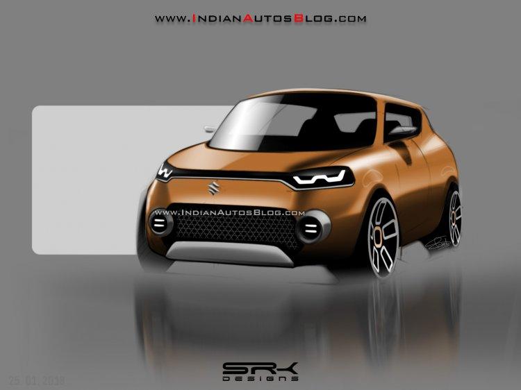 Maruti Future-S Concept IAB rendering