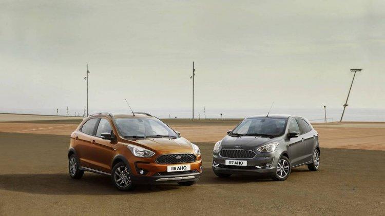 2018 Ford Ka+ (2018 Ford Figo) and Ford Ka+ Active