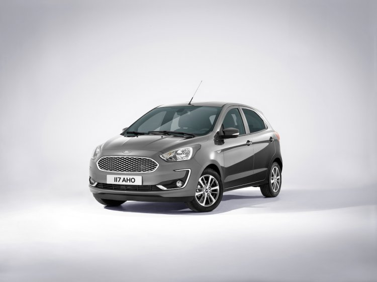 2018 Ford Ka+ (2018 Ford Figo) front three quarters left side