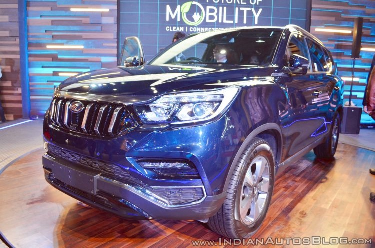 Mahindra Rexton (Codename- Y400) to launch on 9 October