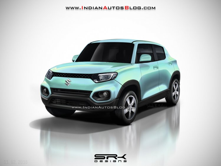 Maruti Future-S prodcution version - IAB Rendering