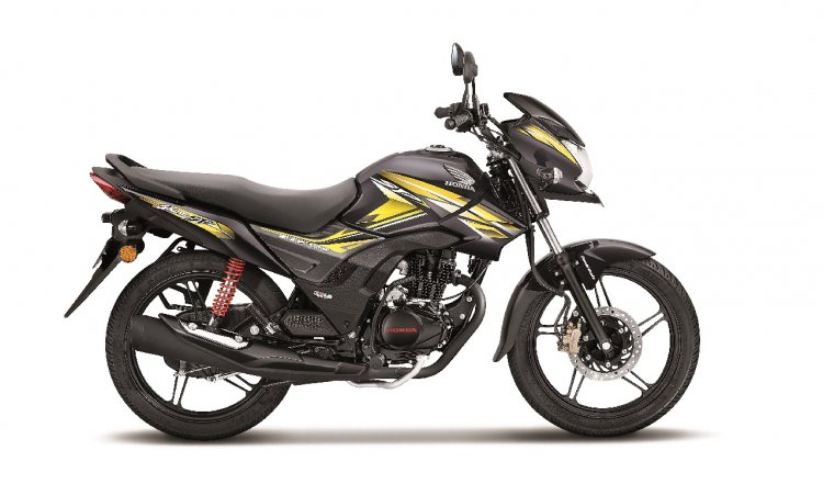 top-selling bikes in india 2018 Honda CB Shine SP press right side