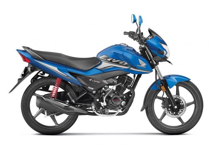 2018 Honda Livo press right side