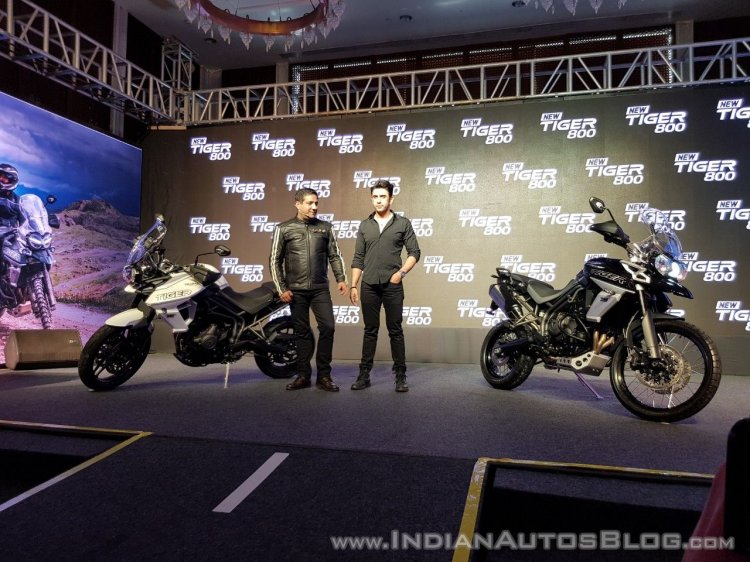 2018 Triumph Tiger 800 Range India Launch