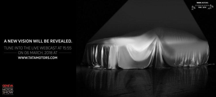 Tata sedan concept Geneva Motor Show teaser