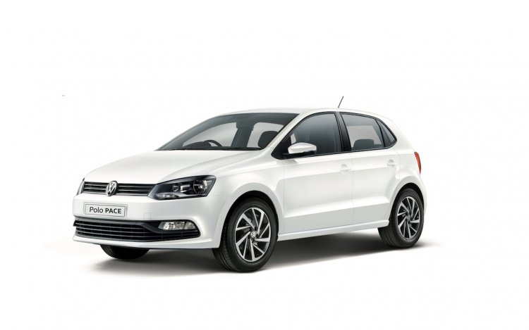 VW Polo Pace front three quarters