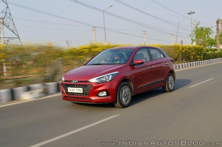 2018 Hyundai i20 facelift review front angle action