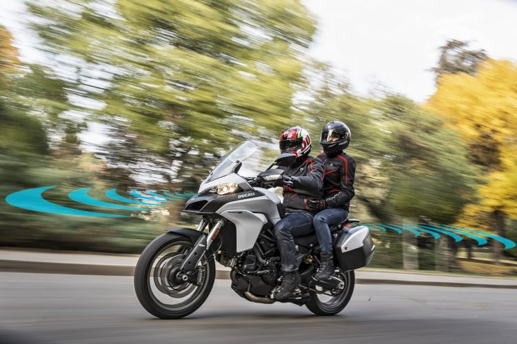 Ducati ARAS Advanced Rider Assistance Systems in Multistrada