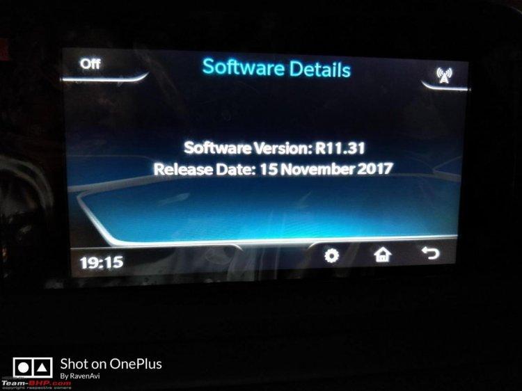 Tata Nexon software update