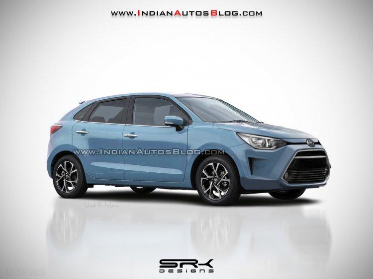 Toyota badged Maruti Baleno - IAB Rendering