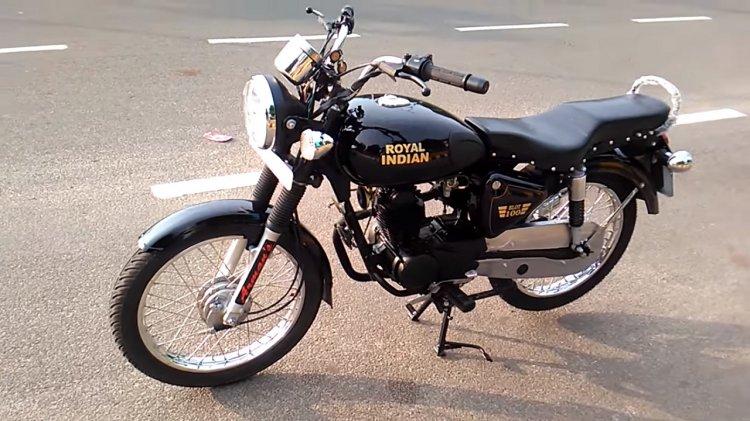 Royal Enfield Bullet 100 cc replica