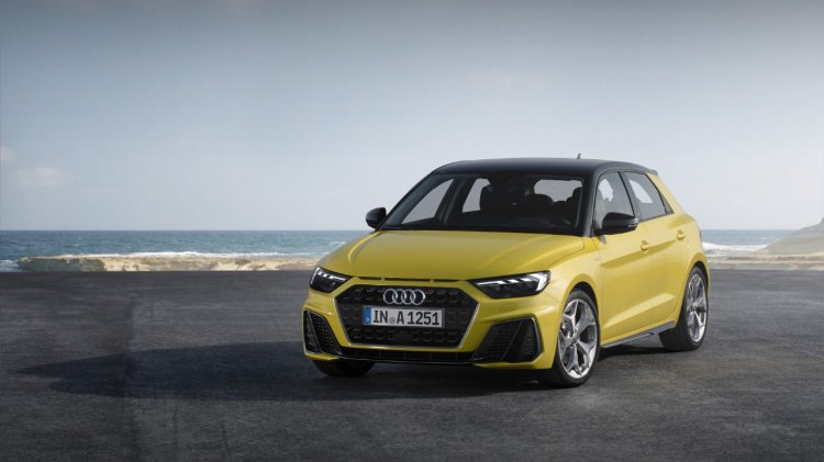 2019 Audi A1 Sportback front three quarters left side