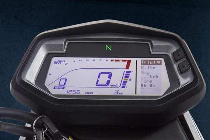 Hero Xpulse 200 digital instrument cluster