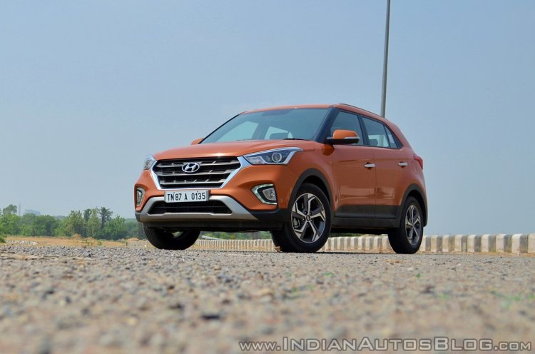2018 Hyundai Creta facelift review front angle low