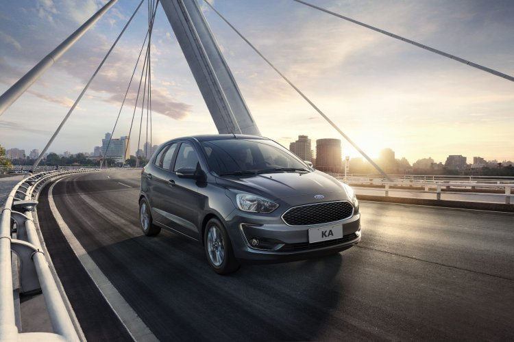 2019 Ford Figo facelift front
