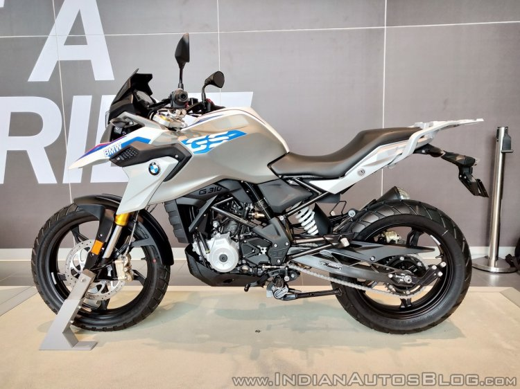 BMW G 310 GS side