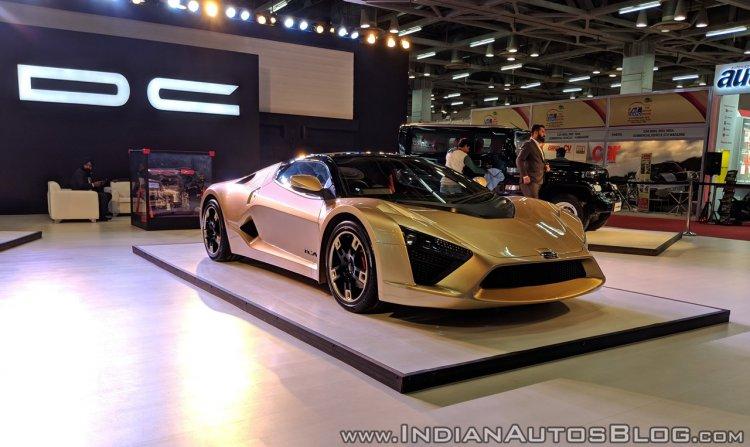 DC TCA sportscar Auto Expo 2018