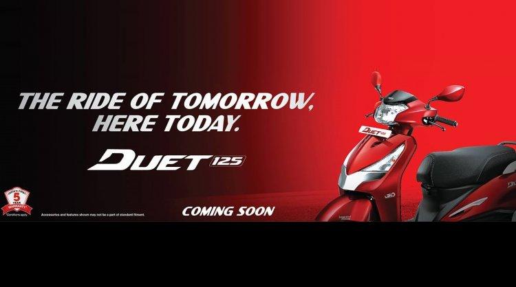 Hero Duet 125 scooter coming soon
