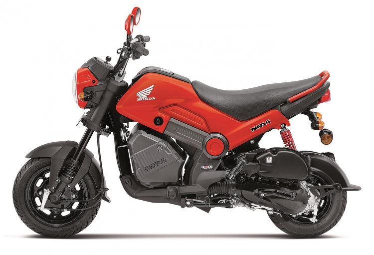Honda Navi 2018 Patriot Red colour option