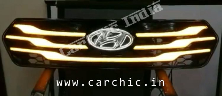 Hyundai Creta Blaze grille indicator