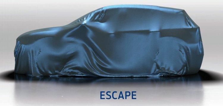 Next-gen Ford Escape teased
