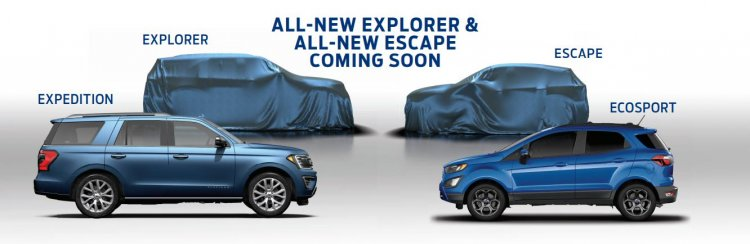 Next-gen Ford Explorer and Ford Escape teased SUV lineup