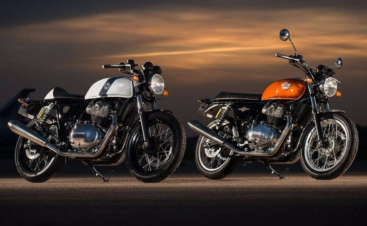 Royal Enfield Interceptor 650 and Royal Enfield Continental GT 650 parallel twin motorcycles