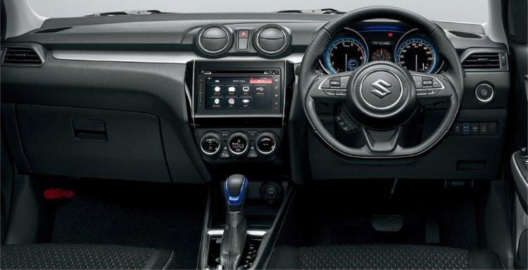 Suzuki Swift Hybrid HEV interior dashboard