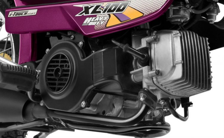 TVS XL 100 heavy duty engine
