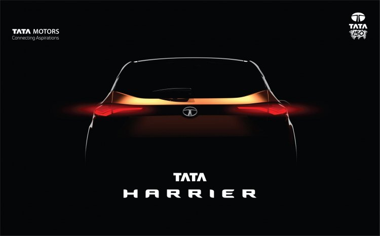 Tata Harrier teaser image rear