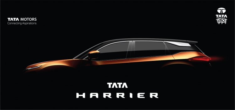 Tata Harrier teaser image side