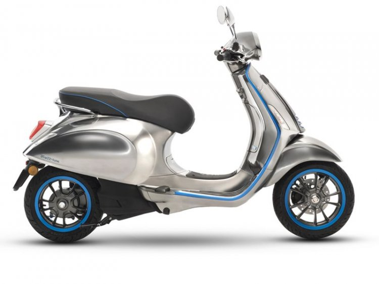 Vespa Elettrica e-scooter right side profile