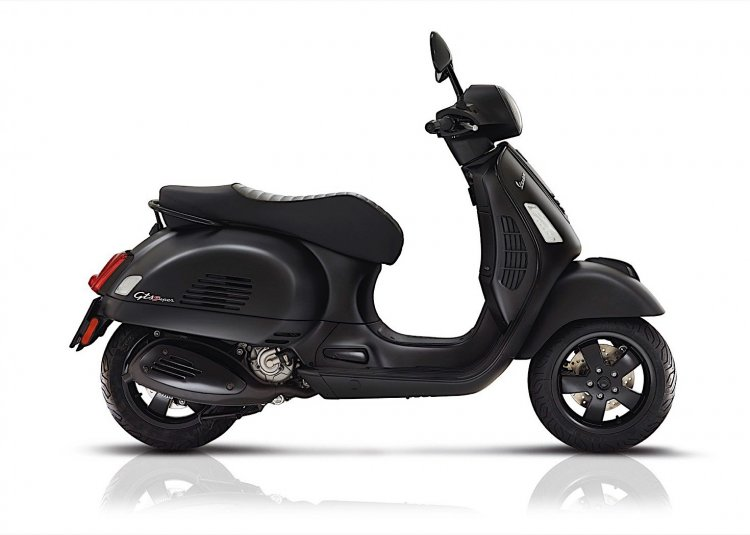 Vespa Super Notte GTS side profile