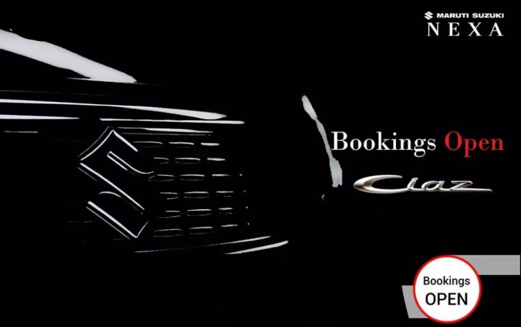 2018 Maruti Ciaz facelift bookings open ad