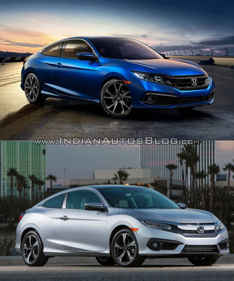 2019 Honda Civic vs older model coupe