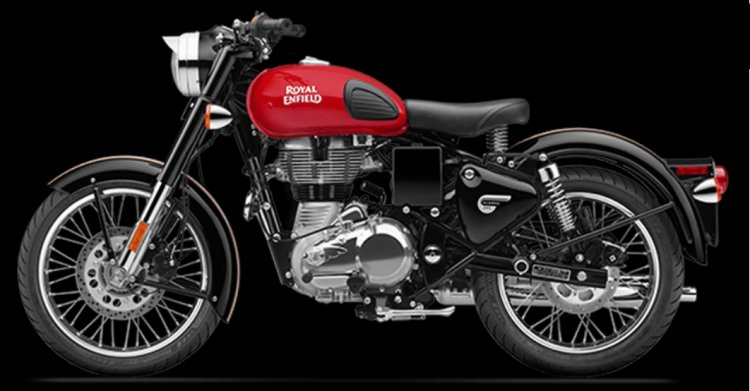 Royal Enfield Classic 500 ABS variant side profile